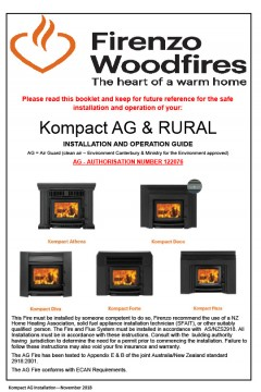 Kompact  AG &  Rural Installation And Operation Guide