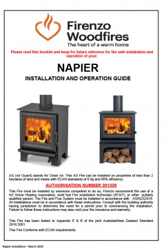 Napier AG Installation and Operation Guide