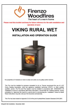 Viking Rural Wet Installation And Operation Guide